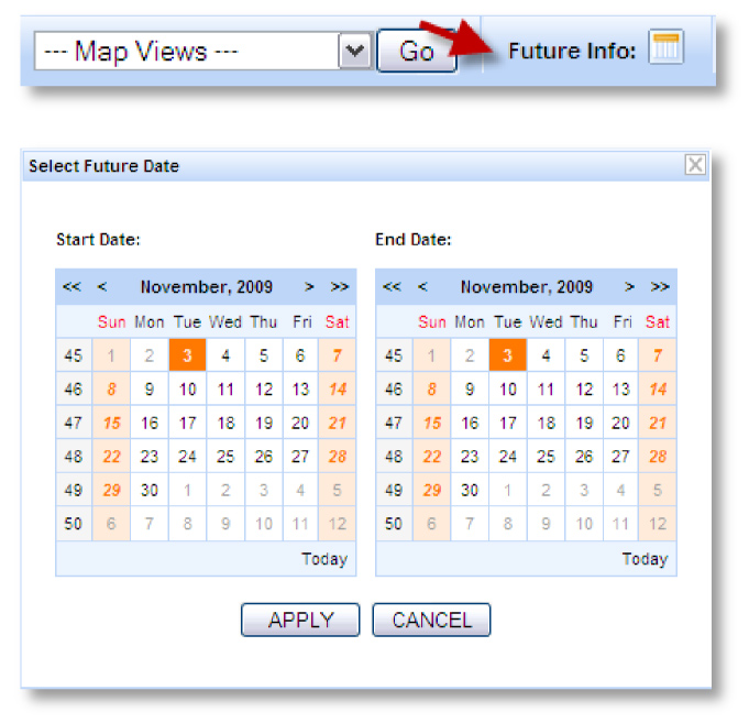 calendar screenshot example Figure 3