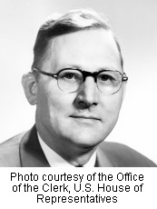Fred Schwengel - Photo courtesy of the Office of the Clerk, U.S. House of Representatives