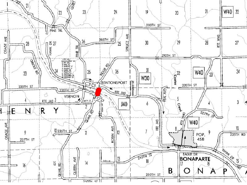 Bentonsport Iowa Map.Bentonsport Bridge