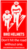 Magnet Bike Helmets - Don't hit the road without one.