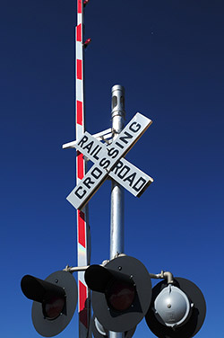 Emergency Number at rail crossing