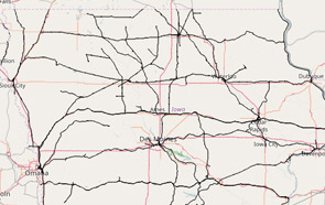Railroad Maps Iowa Department Of Transportation - Map of iowa