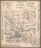 1914 county highway maps thumbnail link to historic collections website