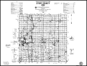1986 County Highway and Transportation maps thumbnail link