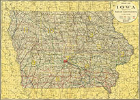Old Iowa Map.Maps Digital Maps Other Maps Historical Maps