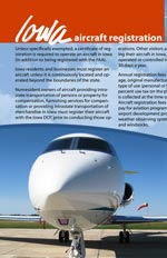 Aircraft registration brochure