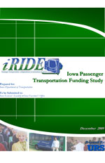 Iowa Passenger Transportation Funding Study - December 2009