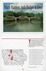Marsh Rainbow Arch Bridges in Iowa (1997)