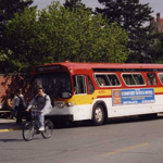 CyRide bus in Ames